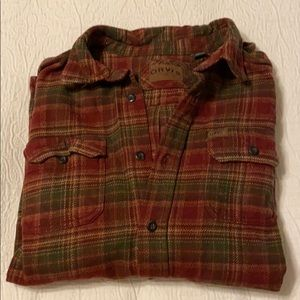 Men's Orvis Flannel Shirt/Jacket